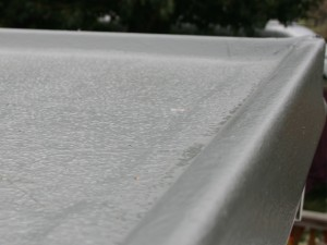 grp trims installed to roof perimeter