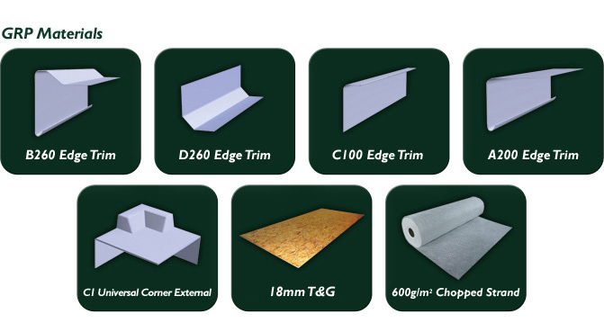 Fibreglass Flat Roofs GRP Materials