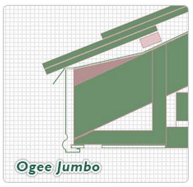 Ogee Jumbo Fascia