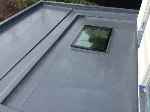 Detailed Fibreglass installation example 5