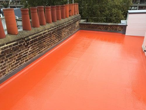 Flat roof fibreglass example 5