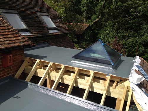 Flat roof windows example 12