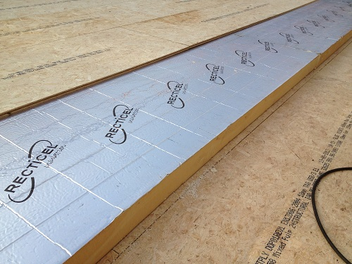Warm Deck Roof Example 1