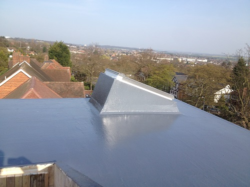 flat roof windows example 2