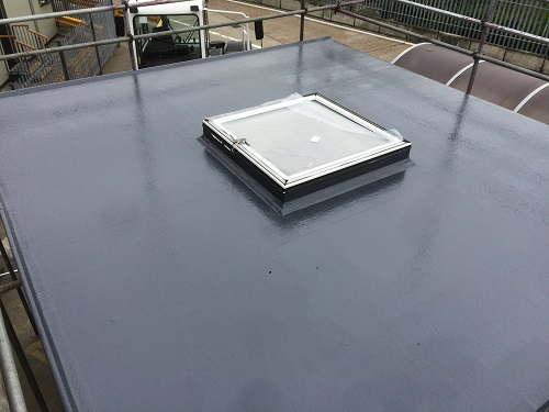 flat roof windows example 3