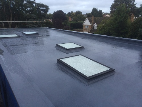 flat roof windows example 5