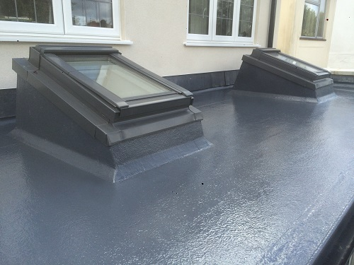 flat roof windows example 6