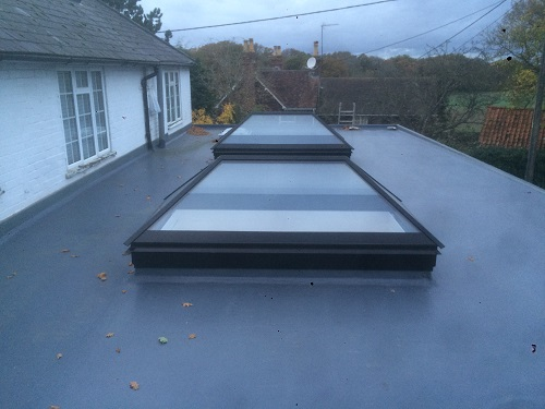 flat roof windows example 7