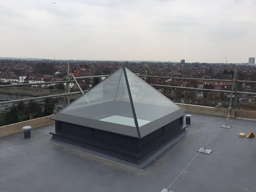 flat roof windows example 9
