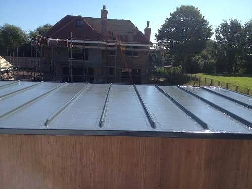 lead rool roof example 1