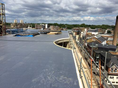 Commercial Fibreglass Flat Roof London