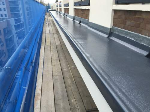 Commercial Fibreglass Roof