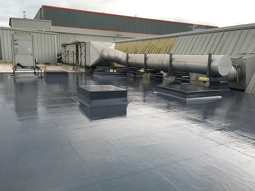 Commercial Fibreglass Roof (9)