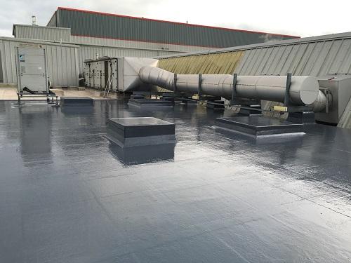 Commercial Fibreglass Roof (9)