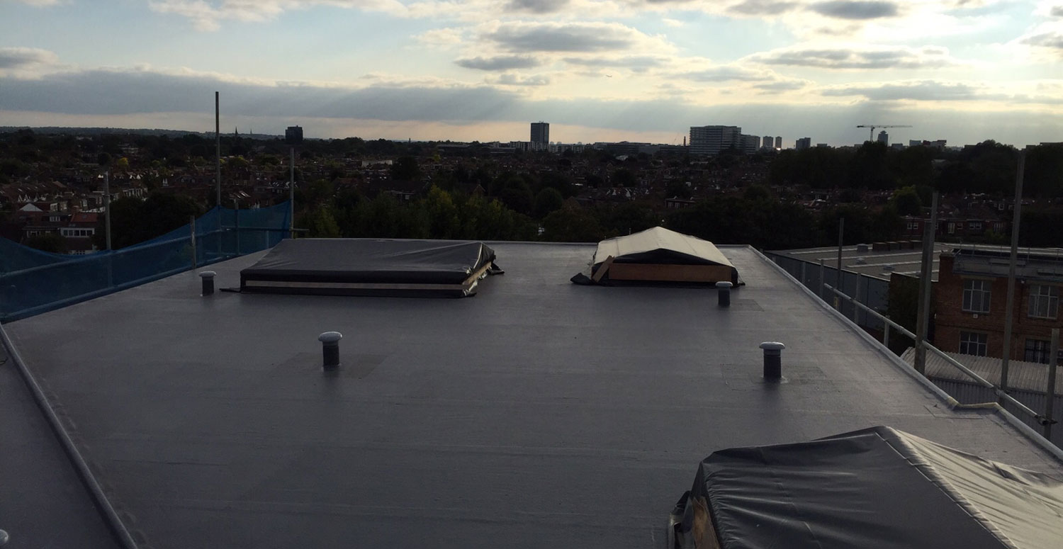 Commercial Fibreglass Roofs