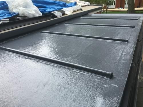Lead Effect Fibreglass Roofs
