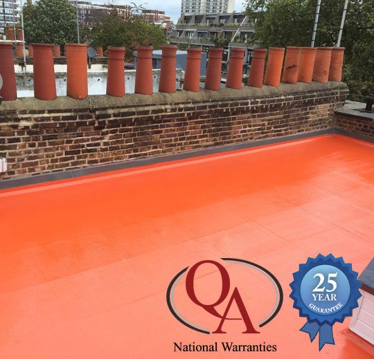 Low Maintenance Fibreglass Flat Roofs Kent