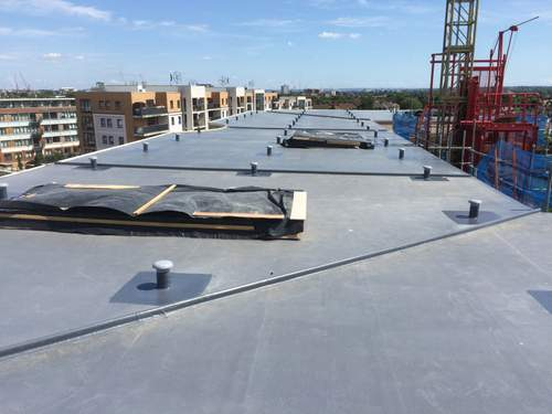 Commercial GRP Roof
