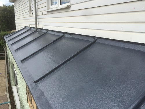 Lead Effect Fibreglass Roof